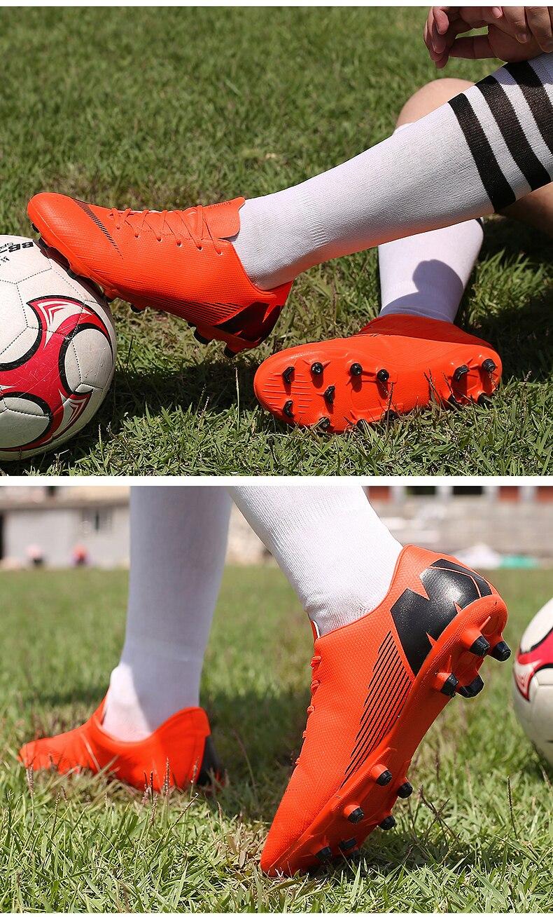 Interior superfly respirável chuteira futebol sapatos de