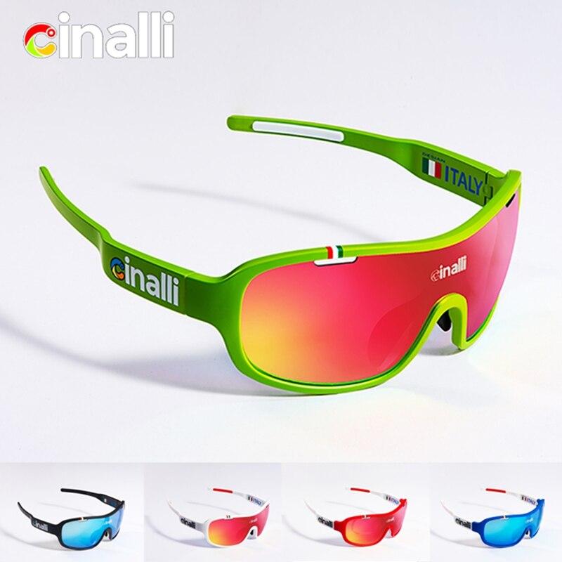 Prix pour Naga père CINALLI C-068 Lunettes lunettes de Soleil Vélo Racing sport en plein air Googles De Protection TR90 Cadre Verres Polarisés En Polycarbonate
