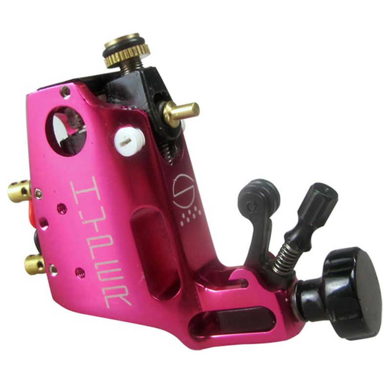 Professional Stigma Hyper V3 CNC Rotary Tattoo Machine Rose Red Alloy tattoo gun Liner Shader Top Free shipping alloy rotary tattoo machine gun liner and shader