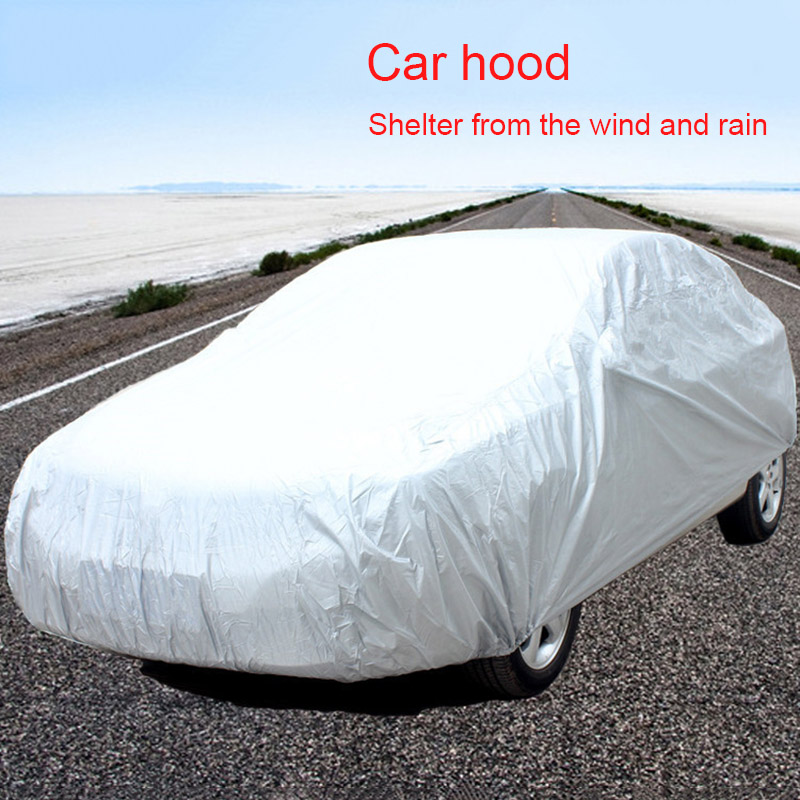 Hot Car SUV Indoor Outdoor Full Car Cover Sun UV Snow Dust Rain Resistant Protection BX image