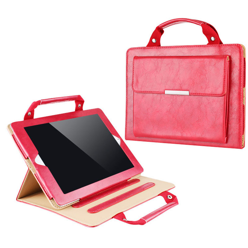 12.9 inch Fashion Tablet Handbag Leather Case For iPad Pro Smart Cover For Apple iPad Pro Multifunction Cases HOT
