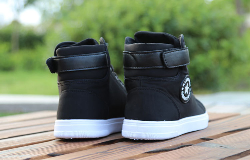 HTB1PV 8aU rK1Rjy0Fcq6zEvVXah Mens High-top Canvas Shoes Men 2020 New Spring Autumn Top Fashion Sneakers Lace-up High Style Solid Colors Man Black Shoes KA853
