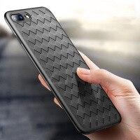 100 шт./лот роскошь силиконовый чехол для iPhone 7 8 Plus x Ткань Страт ультра тонкий силиконовый чехол для Iphone 6 6 S X Plus чехол для телефона