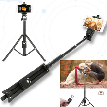3 In 1 Yunteng 1688 Bluetooth Remote Shutter Portable Handle Selfie Stick Mini Table Tripod for IOS Android Iphone Samsung