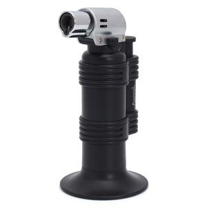 Image 4 - ホットバーベキュートーチターボライタースプレーガンジェットブタンライターキッチンタバコ 1300 c 火災防風ライターなしガス