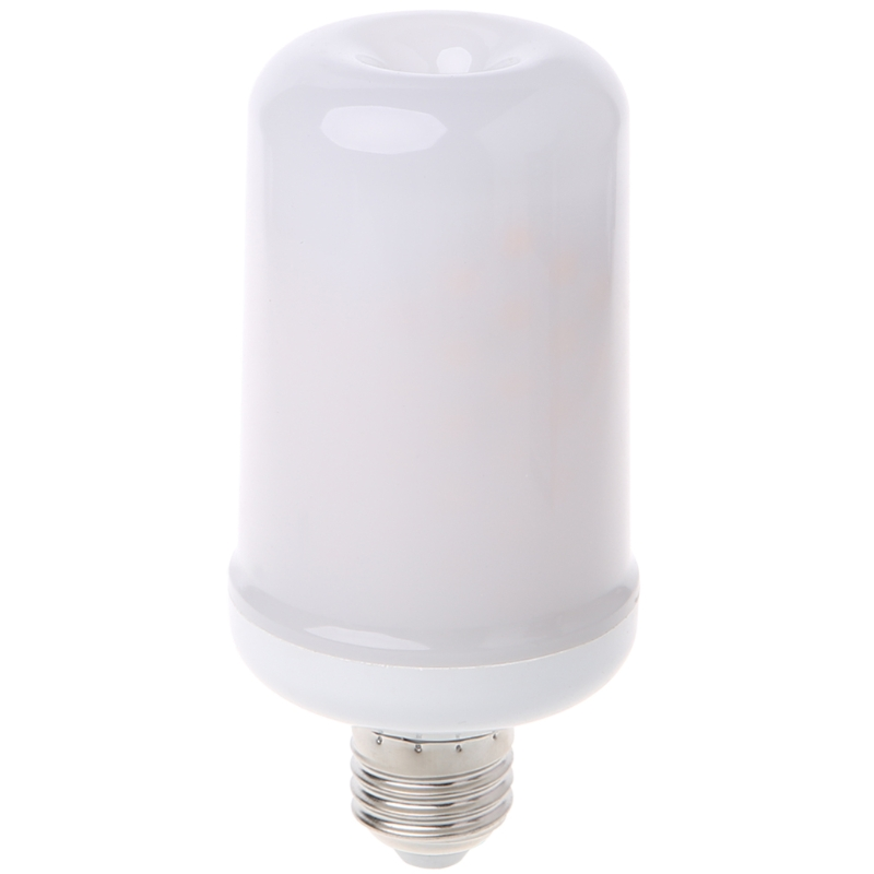 6W 99LED E27 360degree Flame Flickering Effect Fire Light Bulb Decorative Holiday Lamp 580LM