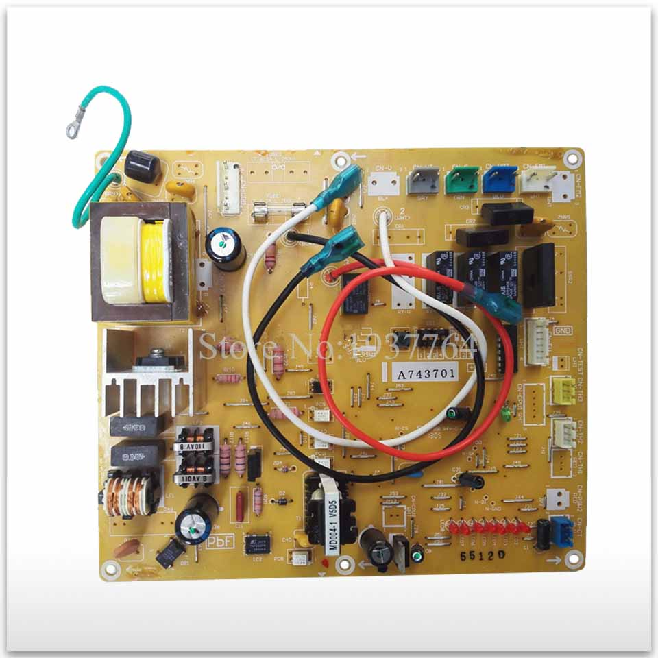 95% new for Air conditioning computer board circuit board A743701 used board good working good working for air conditioning computer board 0011800283b used board