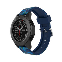 Camouflage Sport Band for Samsung Gear S3 Replacement Wristband 22mm watch band Classic Frontier Smart Watch