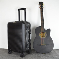 CARRYLOVE Мода Высокое качество бренд все алюминий рамки PC 20/24 дюйм(ов) прокатки багаж чемодан для путешествия мода путешествия чемодан