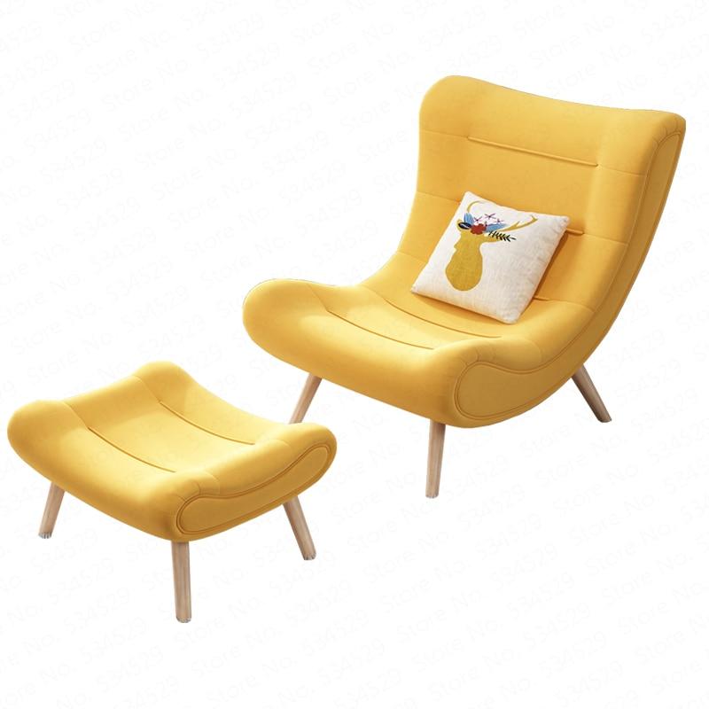 B Nordic Snail Chair Tiger Chair Single Sofa Chair Bedroom Balcony Modern Minimalist Living Room Lazy Lounge Chair Combination