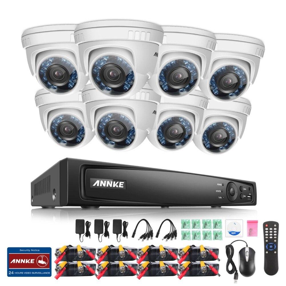 bilder für ANNKE 8-kanal HD-TVI 1080 P Sicherheit DVR Recorder mit 8x 1920TVL (mp) In/Außen Feste Cctv-kameras Überwachungssystem