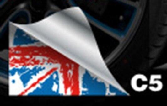 Aliauto 2 x авто-Стайлинг боковой двери наклейка и таблички аксессуары для mini cooper Countryman R50 R52 R53 R58 R56 - Название цвета: C5