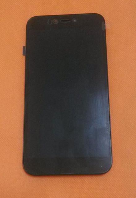 Usado Original Pantalla LCD + Pantalla Táctil Del Digitizador + Frame para UMI Hierro Pro 5.5 Pulgadas 1920X1080 FHD MTK6753 Octa Core Envío Gratis