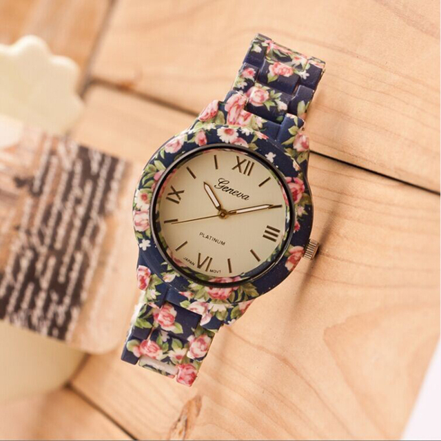 Fashion Geneva Brand Ladies Wrist watches 2016 Simulated Ceramic ...