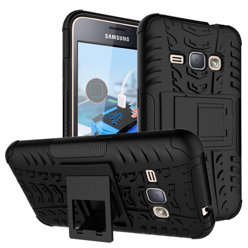 For Samsung Galaxy J1 2016 Case J120 J120F Heavy Heavy Duty Armor Shockproof Hybrid Rugged