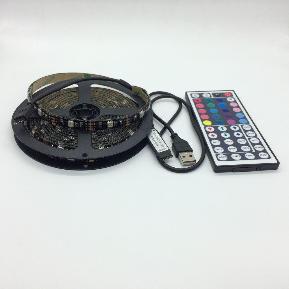 USB LED Strip 5050 RGB TV Kit de iluminación de fondo que se puede - Iluminación LED