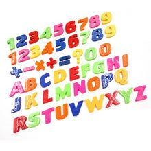 26pcs DIY Number Stickers 26 Letters A-Z stickers Educational 3D English Alphabet stickers Whiteboard Baby Child Toy(China)