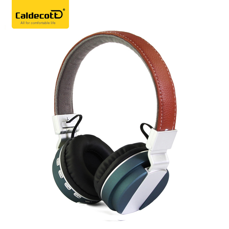 Caldecott BT-53 Bluetooth Headset Gaming Headset Stereo Sound Headset Microphone Super Bass Foldable for MP3 Smartphone Tablet