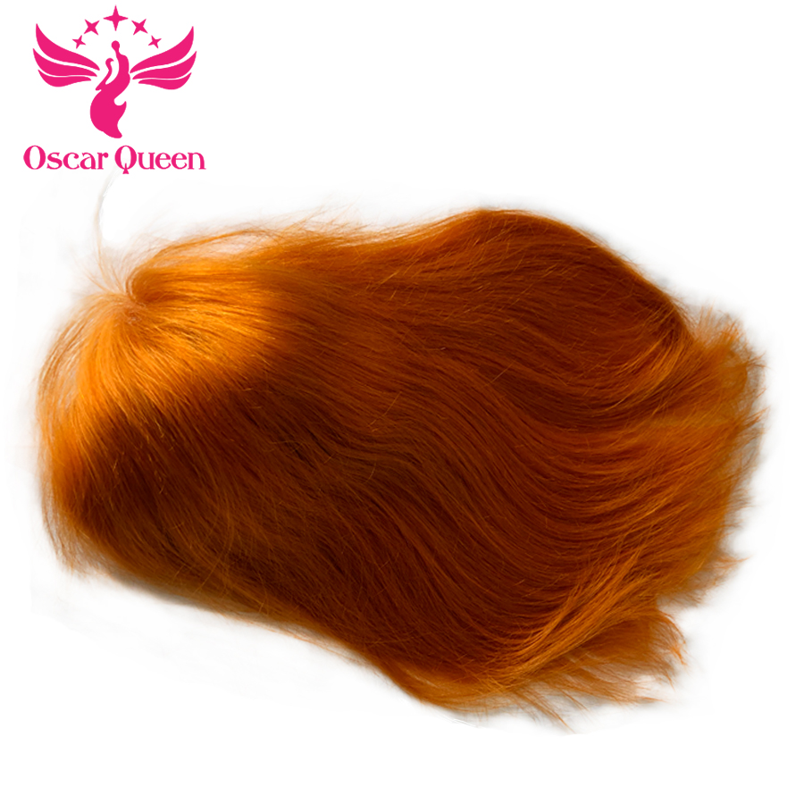 Oscar Queen Brazilian Remy Human Hair Lace Front Hair Wigs Orange Hair With Baby Hair Natural