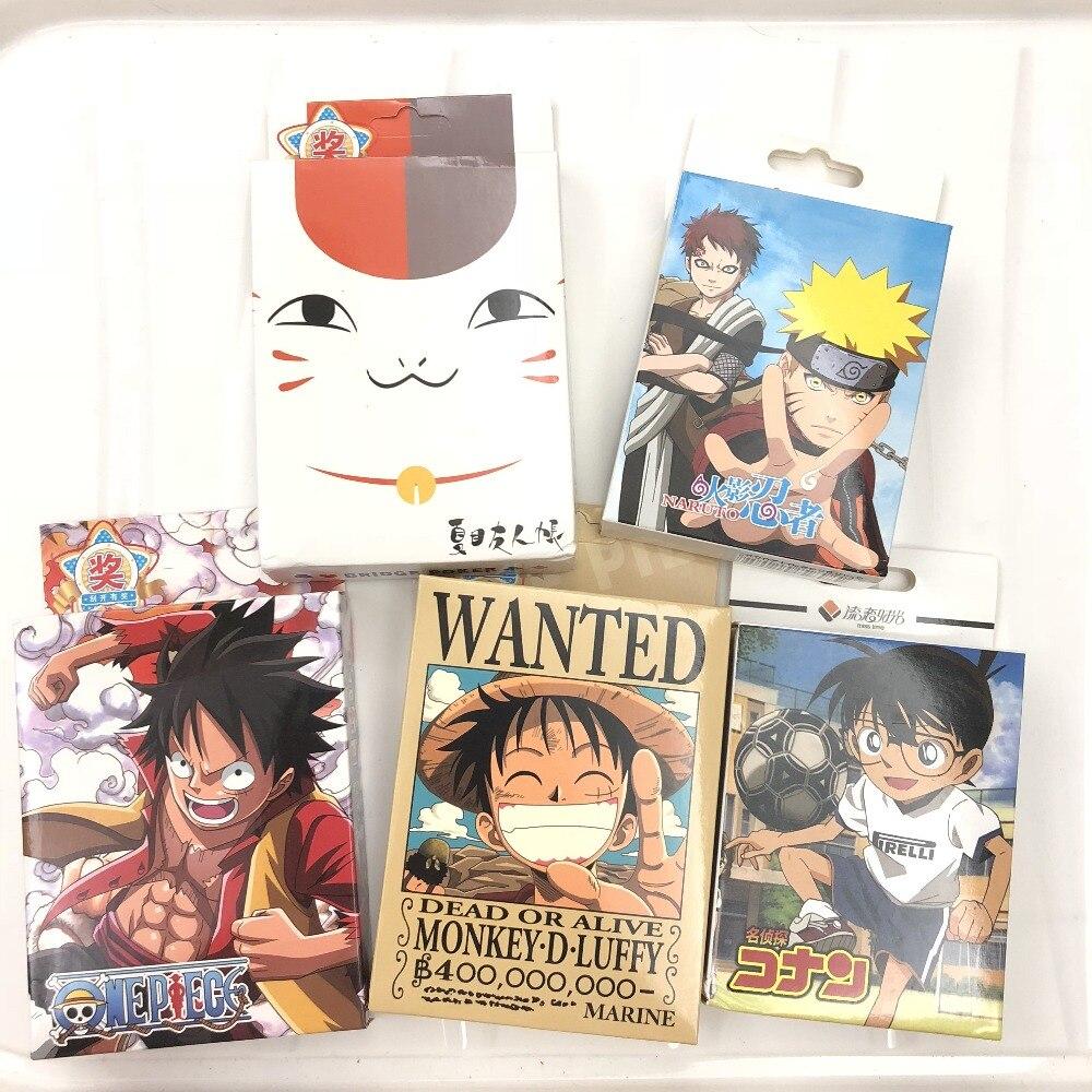Natsume/One piece/Assassination Classroom/Youth love/Parasyte/Kuroko/Naruto/Black Butler/Cartoon Collectible Poker Play Cards 漫 威 復仇 者 聯盟