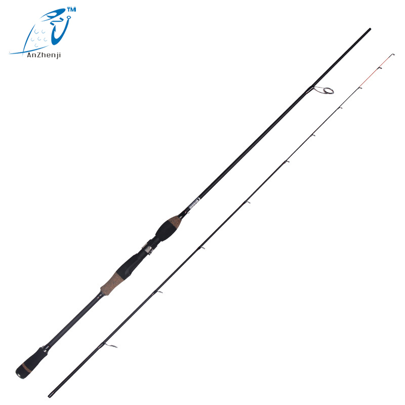 2.1m UL/L/ML Casting Spinning Lure Carbon 2 Sections Fishing Rod Pole With  Medium Fast Action Free Shipping 2015 free shipping 3 6m combo carbon fishing rod sections carp telescopic fishing rod spinning reel casting rod combo set