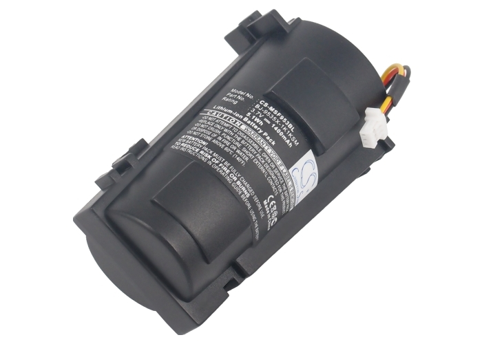 Bar Code Scanner Battery For METROLOGIC MS9535 VoyagerBT MS9535BT (P/N For METROLOGIC 00-06260A 46-46870) honeywell metrologic ms7625 rs232 horizon
