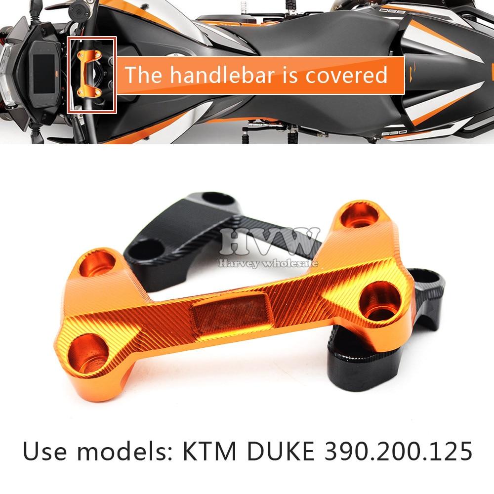 Accesorios de la motocicleta cnc Elevadores de Manillar Tapa superior Abrazadera