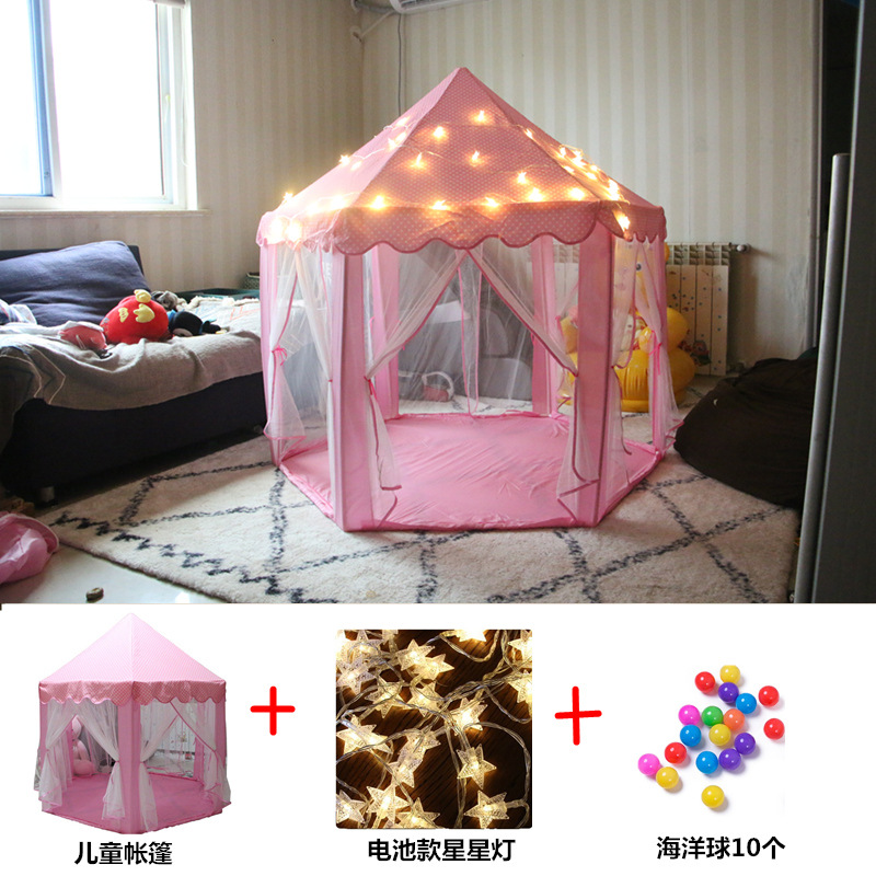 2018 Brand New Indoor Childrens Toy Tents for Kids Game Castle Play Tent House Room Toys