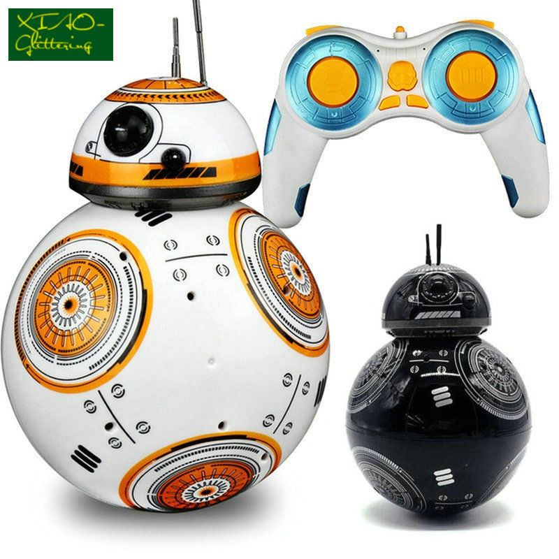 Star Wars RC BB-8 Robot Star Wars 2.4G remote control BB8 robot intelligent small ball Action Figure Toys Christmas Gift exhaust tips on jaguar xe