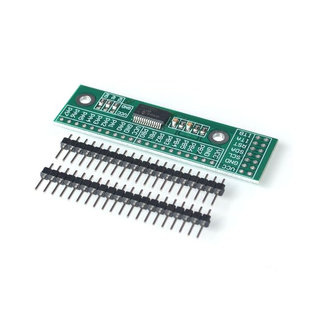 MCP23017 I2C Interface 16bit I/O Extension Module Pin Board IIC to GIPO Converter 25mA1 Drive Power Supply for Arduino and C51