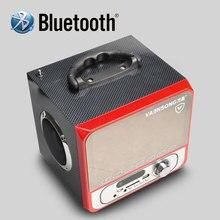 Бесплатная доставка портативный стерео Bluetooth спикер 2.1 сабвуфер может играть TF карты и USB и FM радио, а также для семьи путешествия