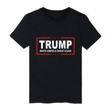 Men Women T shirt Donald Trump 2017 Shirt Mens Short Sleeve Cotton TShirt Donald Trump T Shirts Plus Size Summer Clothes XXXL