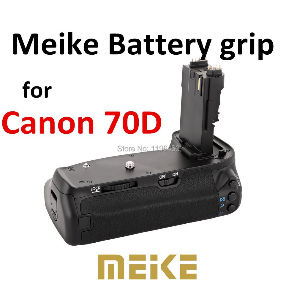ФОТО MEKE Meike MK 70D Vertical Battery Grip Holder for Canon 70d