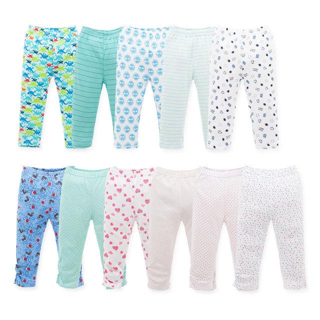 Estilo Variedad de Algodón Niña Bebé Pantalones Del Bebé Niño Pantalones Largos YL147