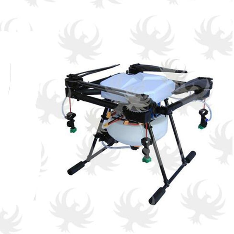 Full set DIY JMR X1380 10L agricultural spray UAV spraying pesticides fold Quadcopter font b drone