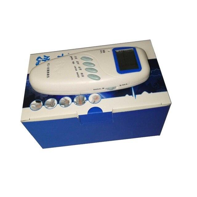 Myostimulator Microcurrents אלקטרודות ממריץ שרירים FZ 1 Lcd נמוך תדר לעיסוי לגב צוואר רגל רגל רוסית langauge