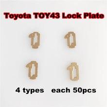 Carro TOY43-Bloqueio Placa de Bloqueio Para Toyota Camry Corolla NO.1.2.3.4 Bloqueio Reed Reed (modelo 4) 200 Total PCS