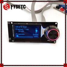 Тип D MINI12864 ЖК-дисплей Экран чёрный с белыми пятнами мини 12864 V1.2 ЖК-дисплей Смарт Дисплей поддерживает марлина «сделай сам» с sd-картой 3D-принтеры Запчасти