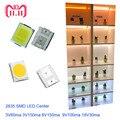 Полный Напряжение высокое Яркость 2835 SMD светодио дный чип 1 Вт 100 шт. 18 В 9 В 6 В 3 В белый светодио дный Быстрая доставка через AliExpress Air Mail - фото