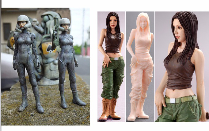 Assembly Unpainted Scale 1/20 85mm Test Pilot and Takako Lopez 85mm figure Historical WWII Resin Model Miniature Kit assembly unpainted scale 1 10 man of the african legion soldier bust figure historical wwii resin model free shipping