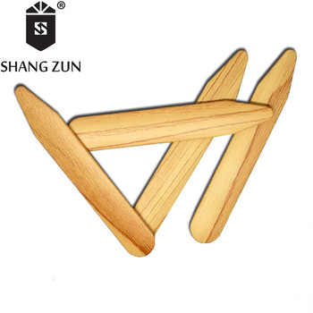 SHANH ZUN 14 Pcs Men's Shirt Collar Stays Business Collar Stiffeners Men's and Women's Colored Plastic Collar Inserts shanh zun personalized customize engraved stainless steel metal collar bones shirt tabs stiffeners inserts golden gift for men