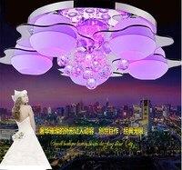 Room Lamp Atmospheric Crystal Lamp LED Lighting Ceiling Modern Minimalist Bedroom Lamp LED Lighting Restaurant
