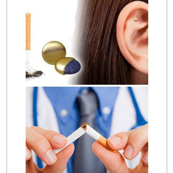 Health Care Magnet Quit Smoking Acupressure Patch NO Cigarette Health Therapy Stop Smoking Anti Smoke Patch Smokeless Smoker