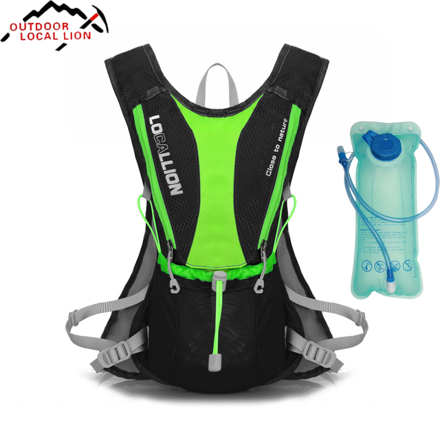 Hot Sale Running Cycling Bicycle Bike Motorcycle Cycle Bag Hydration Backpack Outdoor Packsack With 1L Water Bladder