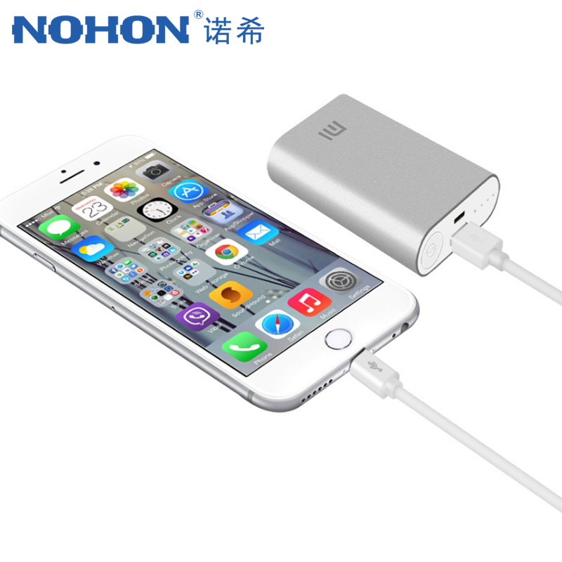 NOHON USB Cable For iPhone X XS MAX XR 8 7 6 plus Fast Charging Data Cable For ipad Mini 2 4A Mobile Phone Charger Cord1M 3M in Mobile Phone Cables from Cellphones Telecommunications