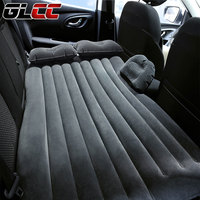 2016 Universal SUV Car Travel Inflatable Mattress Inflatable Car Bed For Back Seat Bed Cushion Floking