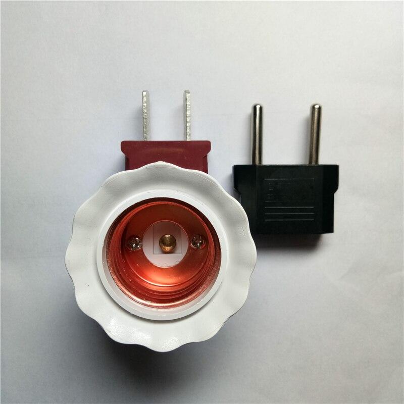 Us 1 93 Led Lamp Holder Base American Us Plug Socket Eu Travel European Euro Outlet Adapter Power Electric Set Kit Factory Wholesale In Led Bulbs