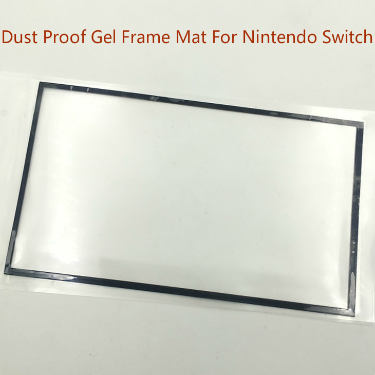 10 Pcs/Lot Original New Black LCD Screen Dust Proof Sponge Gel Frame Mat adhesive For Nintend Switch Console Game Console