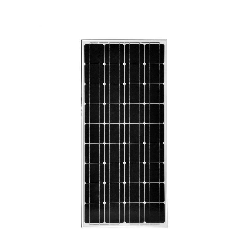 Solar Panel 12V 100W Monocrystalline Silicon Photovoltaic Cell 12V Battery Charger China Caravan Camping Yacht Boat Marine RV sp 36 120w 12v semi flexible monocrystalline solar panel waterproof high conversion efficiency for rv boat car 1 5m cable