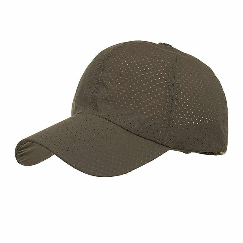 Recém Projeto Mulheres de Verão Respirável Chapéu de Sol Bonés de Beisebol Dos Homens Do Furo 80612